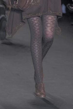 Показ Anna Sui коллекции сезона Осень-зима 2010-2011 года prêt-à-porter - www.elle.ru - Подиум - фото 146816