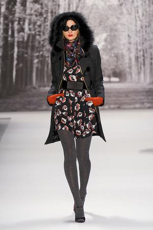 Показ Milly by Michelle Smith коллекции сезона Осень-зима 2011-2012 года Prêt-à-porter - www.elle.ru - Подиум - фото 234652