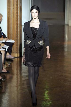 Показ Christian Lacroix коллекции сезона Осень-зима 2009-2010 года haute couture - www.elle.ru - Подиум - фото 87356