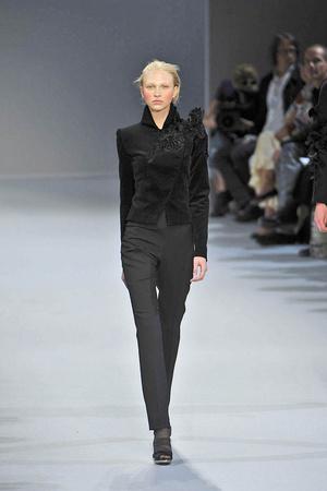 Показ Christophe Josse коллекции сезона Осень-зима 2009-2010 года Haute couture - www.elle.ru - Подиум - фото 87373