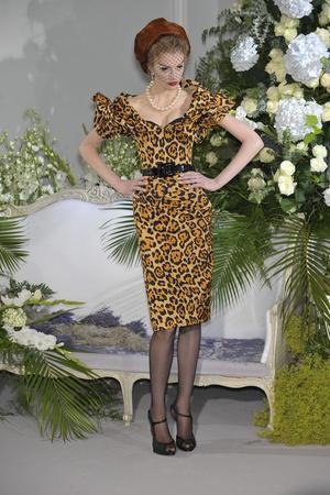 Показ Christian Dior коллекции сезона Осень-зима 2009-2010 года Haute couture - www.elle.ru - Подиум - фото 87317