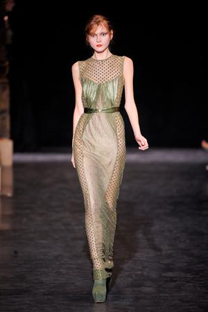 Показ Basil Soda коллекции сезона Осень-зима 2012-2013 года haute couture - www.elle.ru - Подиум - фото 404061