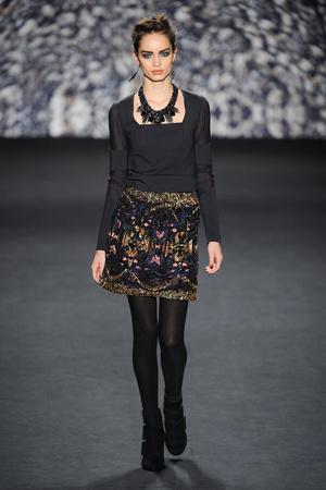 Показ Nicole Miller коллекции сезона Осень-зима 2014-2015 года prêt-à-porter - www.elle.ru - Подиум - фото 576292