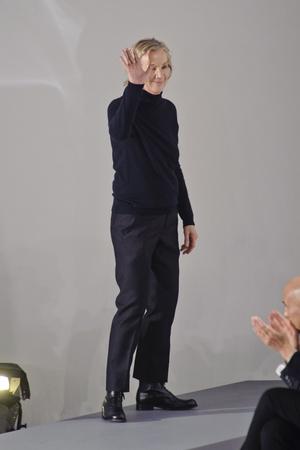 Показ Jil Sander коллекции сезона Осень-зима 2013-2014 года Prêt-à-porter - www.elle.ru - Подиум - фото 521018