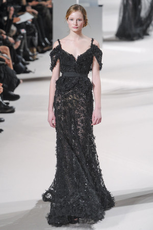 Показ Elie Saab коллекции сезона Весна-лето 2011 года Haute couture - www.elle.ru - Подиум - фото 216809