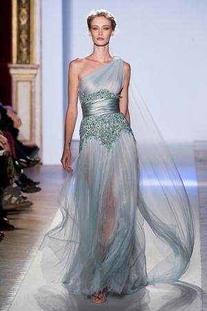 Показ Zuhair Murad коллекции сезона Весна-лето 2013 года Haute couture - www.elle.ru - Подиум - фото 480953