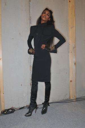 Показ Karl Lagerfeld коллекции сезона Осень-зима 2009-2010 года prêt-à-porter - www.elle.ru - Подиум - фото 99128