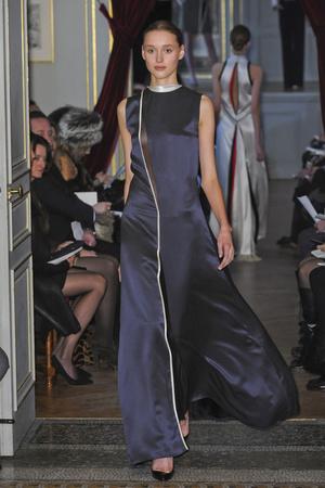 Показ Bouchra Jarrar коллекции сезона Весна-лето 2011 года Haute couture - www.elle.ru - Подиум - фото 214868