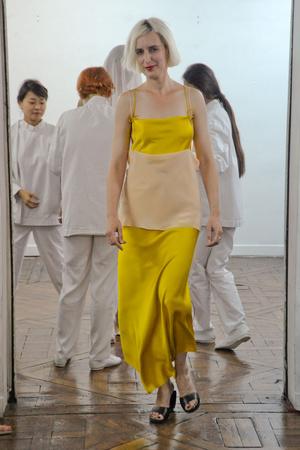 Показ Adeline Andre коллекции сезона Осень-зима 2010-2011 года Haute couture - www.elle.ru - Подиум - фото 167249