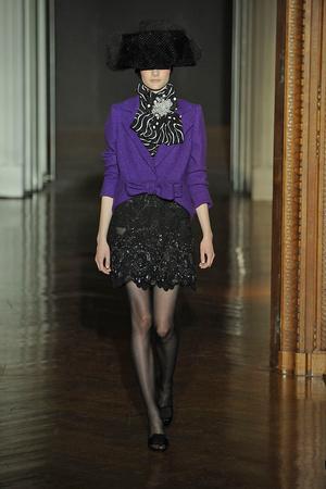 Показ Christian Lacroix коллекции сезона Осень-зима 2009-2010 года haute couture - www.elle.ru - Подиум - фото 87350