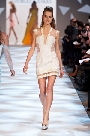 Показ Georges Chakra коллекции сезона Весна-лето 2013 года haute couture - www.elle.ru - Подиум - фото 480707