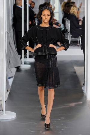 Показ Christian Dior коллекции сезона Весна-лето 2012 года Haute couture - www.elle.ru - Подиум - фото 330487