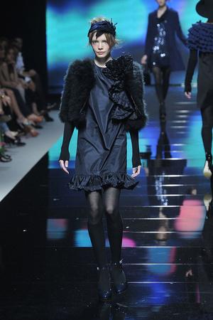 Показ Blugirl коллекции сезона Осень-зима 2009-2010 года prêt-à-porter - www.elle.ru - Подиум - фото 94333