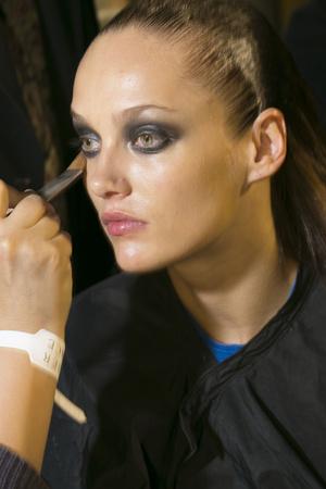 Показ Atelier Versace коллекции сезона Весна-лето 2013 года haute couture - www.elle.ru - Подиум - фото 477716