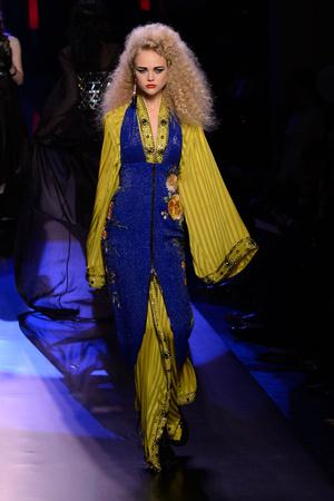 Показ Jean Paul Gaultier коллекции сезона Весна-лето  2016 года Haute couture - www.elle.ru - Подиум - фото 602942