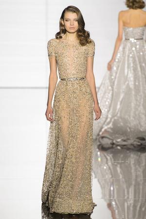 Показ Zuhair Murad коллекции сезона Весна-лето 2015 года haute couture - www.elle.ru - Подиум - фото 593249