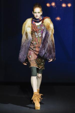 Показ Wunderkind коллекции сезона Осень-зима 2014-2015 года Prêt-à-porter - www.elle.ru - Подиум - фото 583073