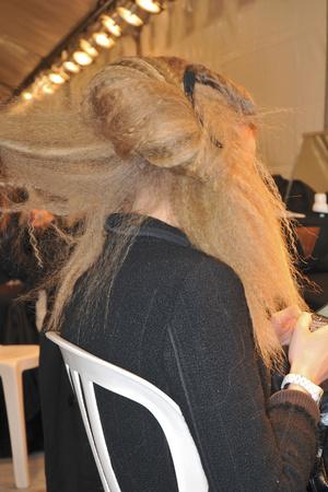 Показ Karl Lagerfeld коллекции сезона Осень-зима 2009-2010 года prêt-à-porter - www.elle.ru - Подиум - фото 99130