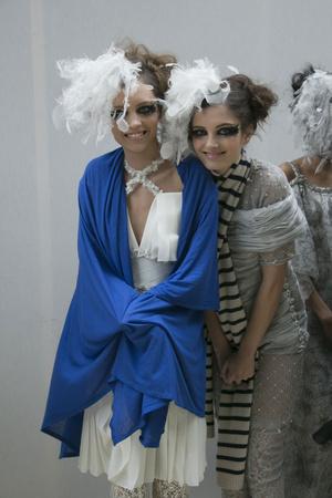 Показ  коллекции сезона Весна-лето 2013 года Haute couture - www.elle.ru - Подиум - фото 479830