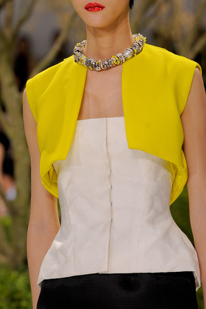 Показ Christian Dior коллекции сезона Весна-лето 2013 года Haute couture - www.elle.ru - Подиум - фото 478281