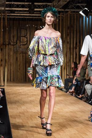 Показ Kira Plastinina Lublu коллекции сезона Весна-лето 2013 года Prêt-à-porter - www.elle.ru - Подиум - фото 468704
