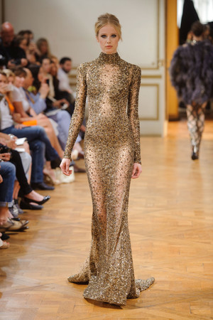 Показ Zuhair Murad коллекции сезона Осень-зима 2013-2014 года haute couture - www.elle.ru - Подиум - фото 556606