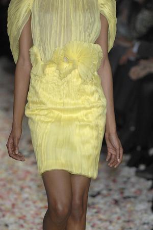 Показ Givenchy коллекции сезона Весна-лето 2009 года Haute couture - www.elle.ru - Подиум - фото 86846