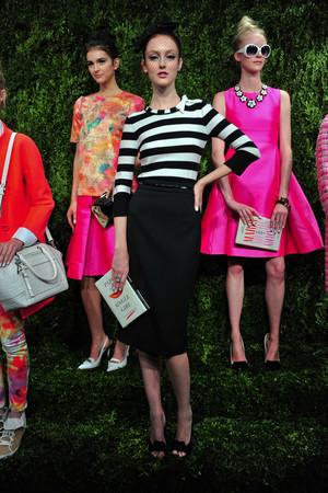 Показ Kate Spade коллекции сезона Весна-лето 2014 года prêt-à-porter - www.elle.ru - Подиум - фото 558664