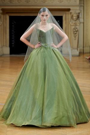 Показ Alexis Mabille коллекции сезона Осень-зима 2011-2012 года haute couture - www.elle.ru - Подиум - фото 277061