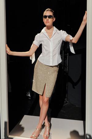 Показ Pamella Roland коллекции сезона Весна-лето 2012 года Prêt-à-porter - www.elle.ru - Подиум - фото 297956
