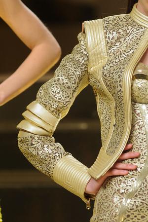 Показ Versace Haute Couture коллекции сезона Весна-лето 2012 года Haute couture - www.elle.ru - Подиум - фото 330308