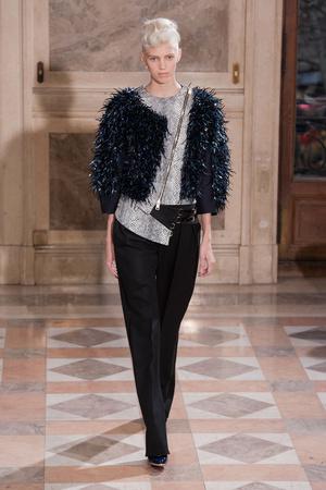 Показ Bouchra Jarrar коллекции сезона Весна-лето 2014 года haute couture - www.elle.ru - Подиум - фото 574688