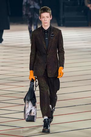 Показ Dior Homme коллекции сезона Осень-зима 2017-2018 года Men prêt-à-porter - www.elle.ru - Подиум - фото 615865