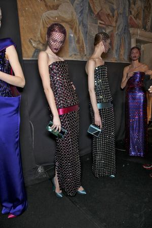 Показ Giorgio Armani Privé коллекции сезона Весна-лето 2011 года Haute couture - www.elle.ru - Подиум - фото 216300