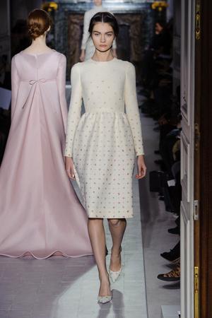 Показ Valentino коллекции сезона Весна-лето 2013 года Haute couture - www.elle.ru - Подиум - фото 480755