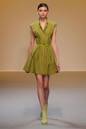 Показ Lefranc Ferrant коллекции сезона Осень-зима 2010-2011 года haute couture - www.elle.ru - Подиум - фото 168021