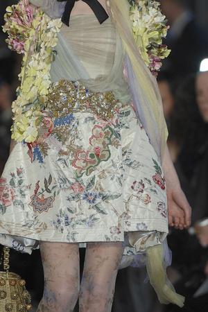 Показ Christian Lacroix коллекции сезона Весна-лето 2009 года haute couture - www.elle.ru - Подиум - фото 86473