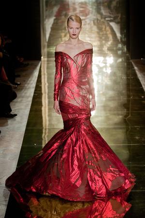 Показ Georges Chakra коллекции сезона Осень-зима 2012-2013 года Haute couture - www.elle.ru - Подиум - фото 403202