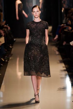 Показ Elie Saab коллекции сезона Весна-лето 2013 года Haute couture - www.elle.ru - Подиум - фото 480400