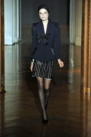 Показ Christian Lacroix коллекции сезона Осень-зима 2009-2010 года haute couture - www.elle.ru - Подиум - фото 87352