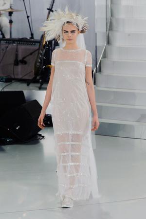 Показ Chanel коллекции сезона Весна-лето 2014 года haute couture - www.elle.ru - Подиум - фото 574497
