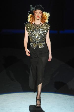 Показ Anna Sui коллекции сезона Весна-лето 2012 года prêt-à-porter - www.elle.ru - Подиум - фото 296634