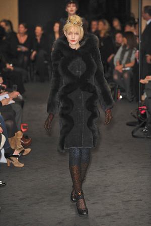 Показ Sonia Rykiel коллекции сезона Осень-зима 2009-2010 года Prêt-à-porter - www.elle.ru - Подиум - фото 99645