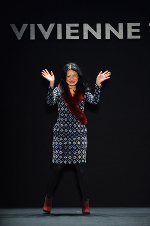 Показ Vivienne Tam коллекции сезона Осень-зима 2012-2013 года Prêt-à-porter - www.elle.ru - Подиум - фото 348649