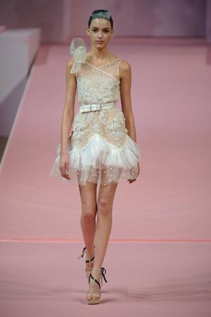Показ Alexis Mabille коллекции сезона Весна-лето 2013 года Haute couture - www.elle.ru - Подиум - фото 477539