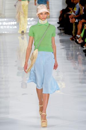 Показ Ralph Lauren коллекции сезона Весна-лето 2012 года Prêt-à-porter - www.elle.ru - Подиум - фото 297426
