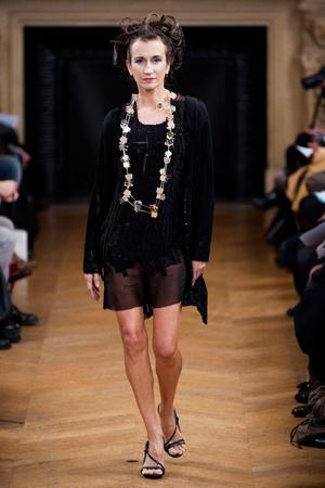 Показ Maurizio Galante коллекции сезона Весна-лето 2013 года Haute couture - www.elle.ru - Подиум - фото 477139