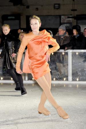Показ Elise Overland коллекции сезона Осень-зима 2011-2012 года prêt-à-porter - www.elle.ru - Подиум - фото 226777