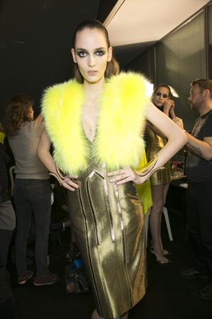 Показ Atelier Versace коллекции сезона Весна-лето 2013 года haute couture - www.elle.ru - Подиум - фото 477718