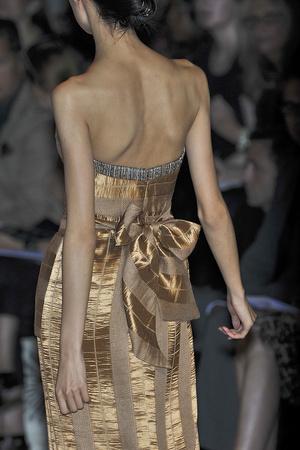 Показ Carolina Herrera коллекции сезона Весна-лето 2010 года Prêt-à-porter - www.elle.ru - Подиум - фото 108493
